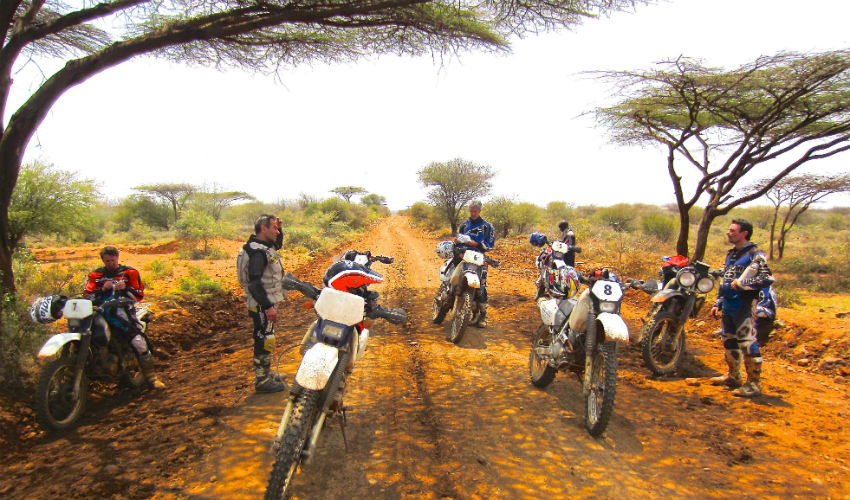 Dirt bike tour Northen Kenya