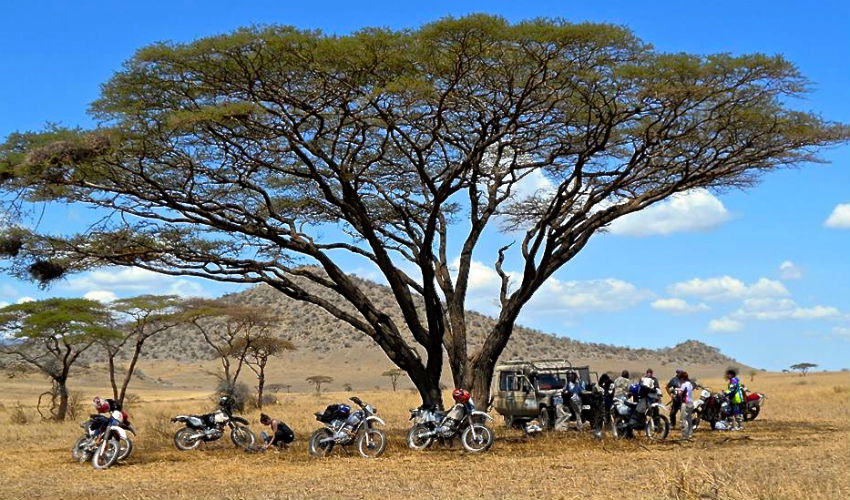 Off road dual sport motorbike tours in Kenya, Tanzania and Ethiopia