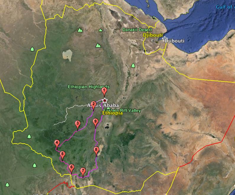 South West Ethiopia