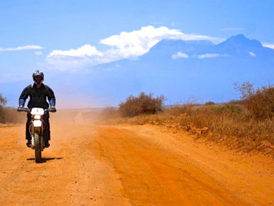 Dirt bike tour Kenya Kilimanjaro - Off Road, Dual Sport Motorbike Tours in Africa - Kenya, Ethiopia, Tanzania (East Africa)
