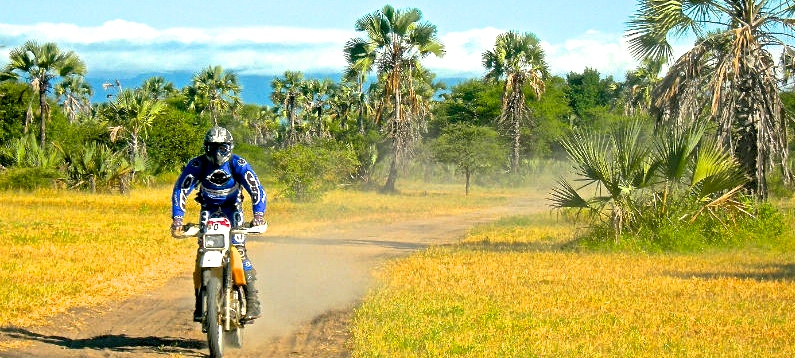 A motorcycle tour for you in Tanzania