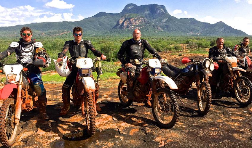 Motorcycle tour southern route De Raikem