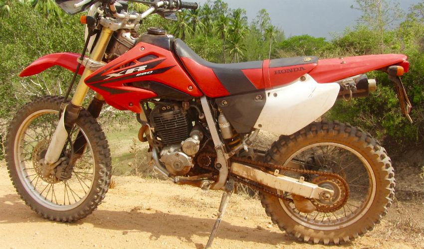 Off Road, Dual Sport Motorbike Tours in Africa - Kenya, Ethiopia, Tanzania (East Africa) - Honda XR 250