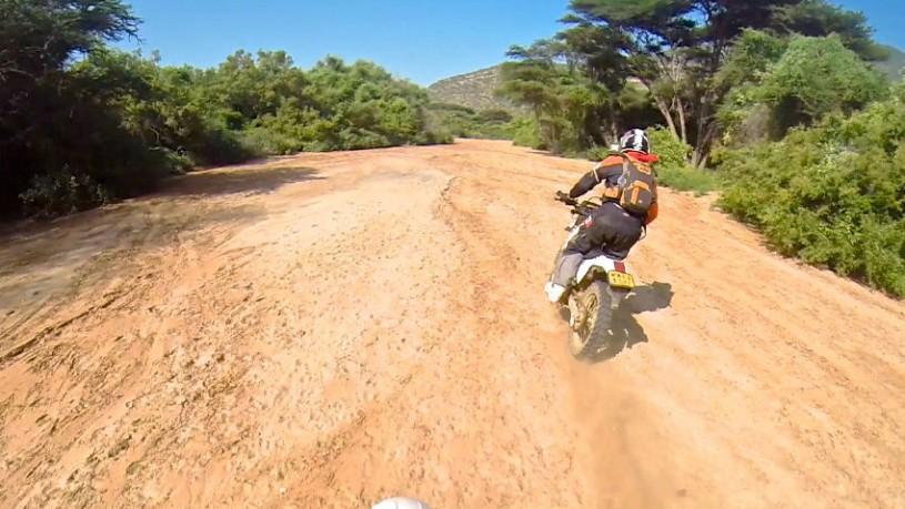 Motorbike tour Kenya Samburu