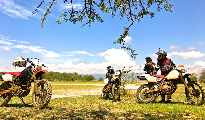 Tanzania Motorcycle Tour Tanzania Lake Eyasi