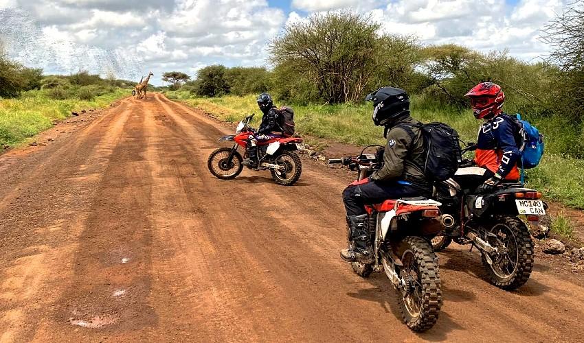 Southern Kenya Motorbike Tour