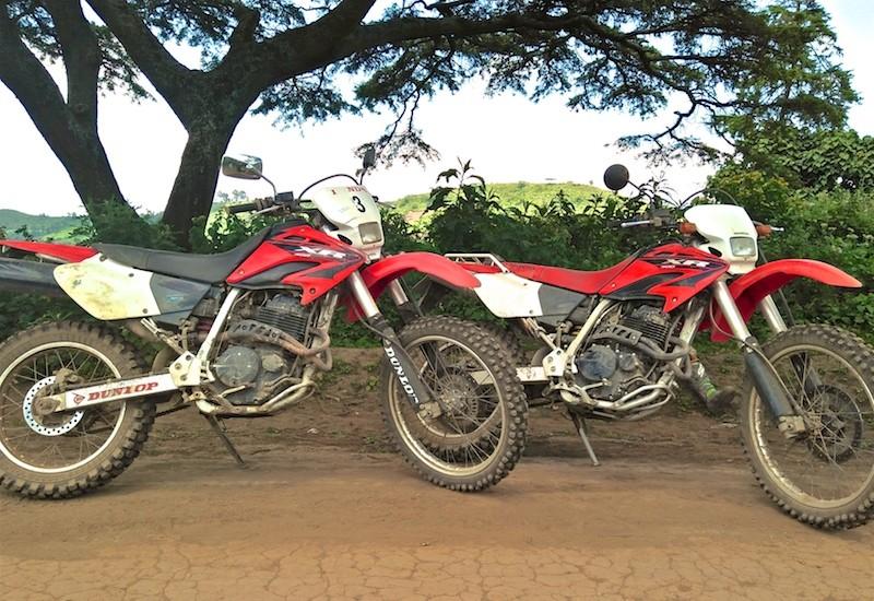 Honda_XR400_motorbike_safari - Off road dual sport motorbike safari