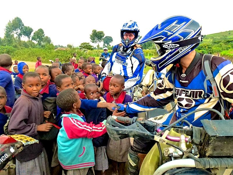 Dual sport motorbike Safari tours in Africa - Kenya