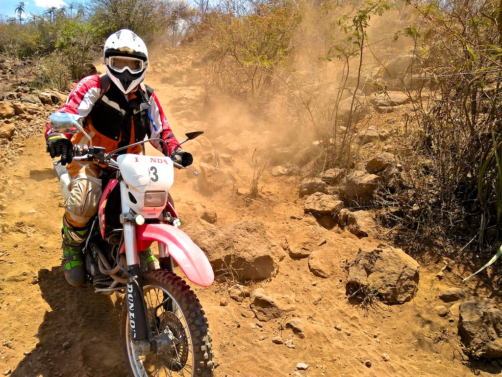 Southern Kenya Tour - XR400 - Offroad dual sport motorbike tour