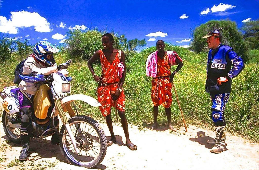 South Kenya - Tanzania motorbike safari