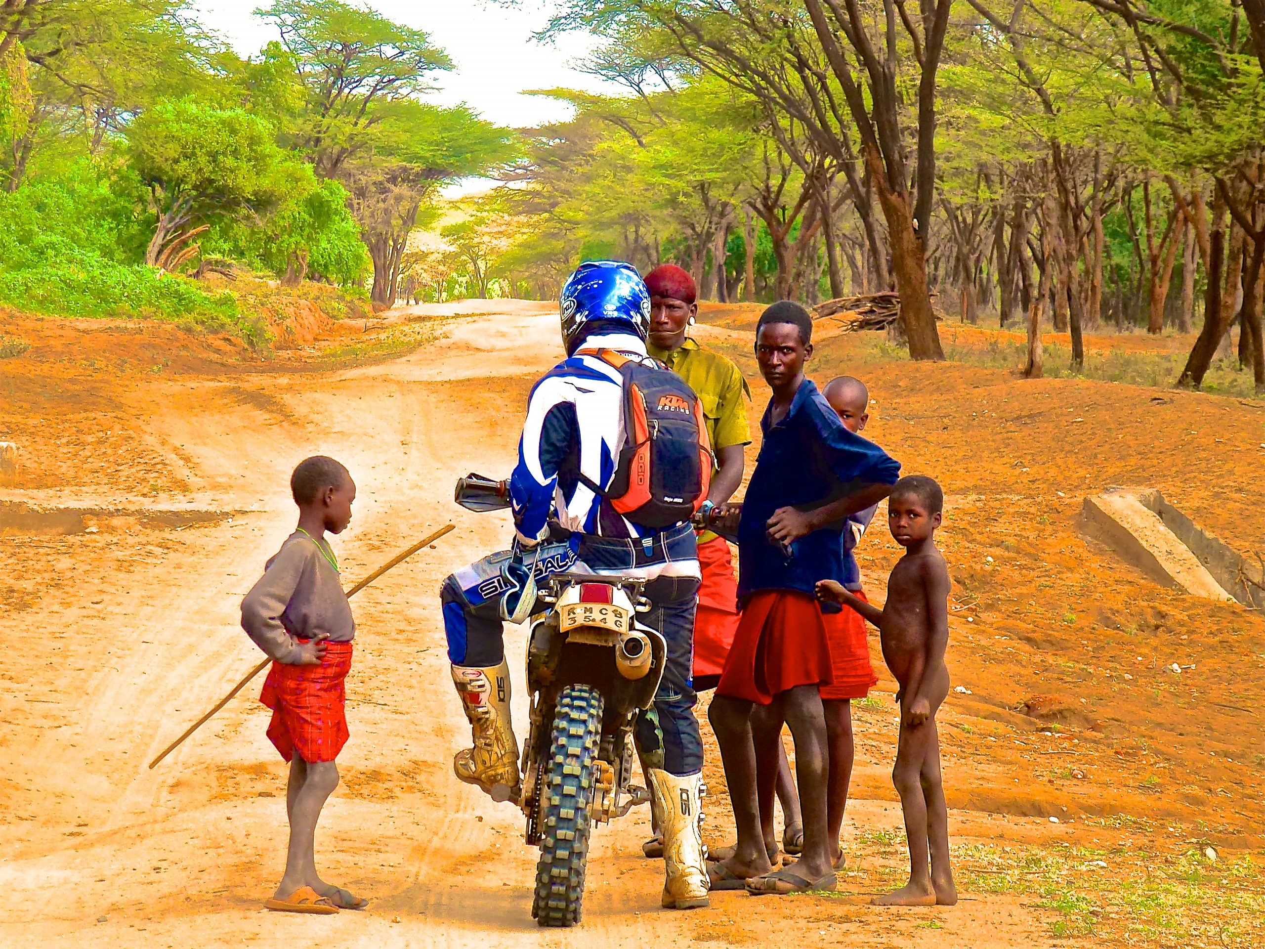 A magnificent tour by motorbike across the best corners of South Kenya