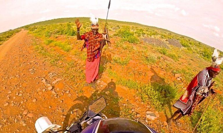 Voyage moto au Nord Kenya
