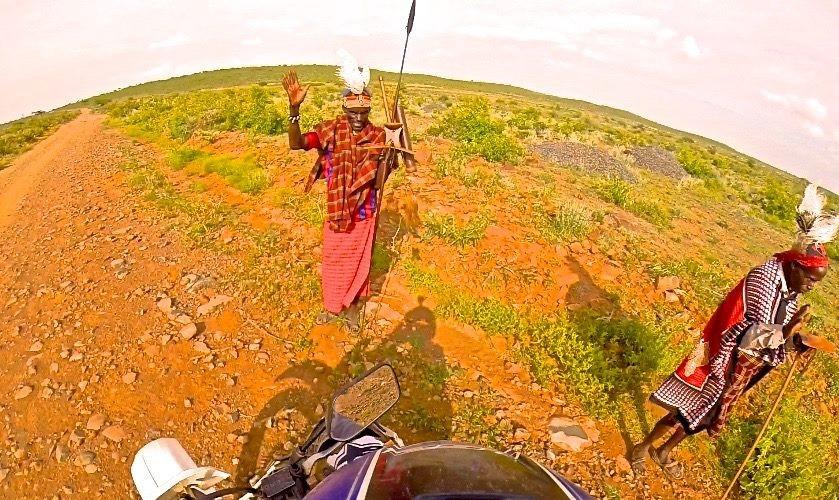 Voyage moto au Nord du Kenya jusqu'au Lac de Jade; le lac Turkana – Fevrier 2019